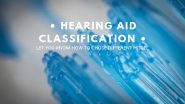 Clasificación de audífonos