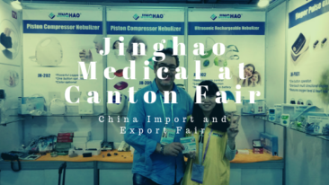 Jinghao Medical på Canton Fair