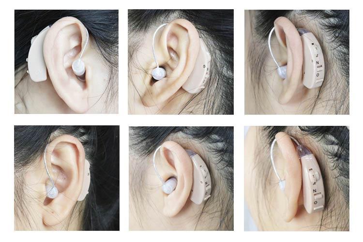 jh-125 hearing aids wearing photo
