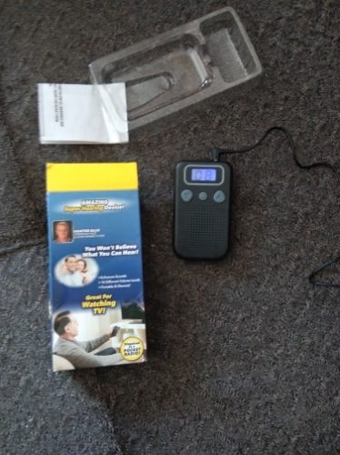 JH-233 High Power Pocket Worn Body Aid Hearing Aid photo review