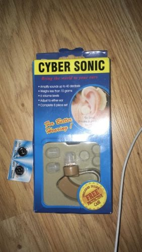 Cyber Sonic BTE Hearing Aids JH-113 photo review